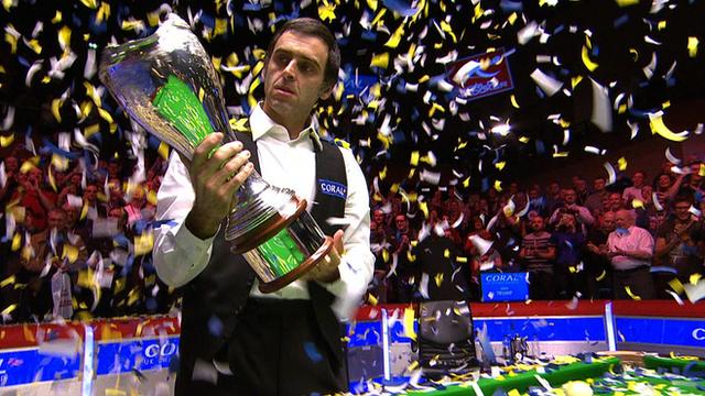 BBC Sport - Ronnie O'Sullivan beats Judd Trump to win UK Championship
