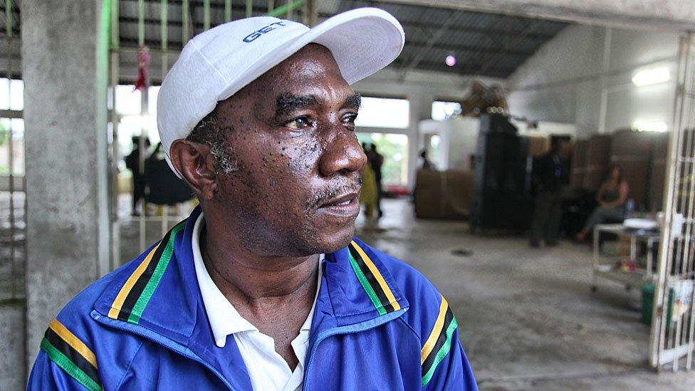 Tanzanian former acrobat