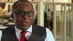 Zambian entrepreneur Maybin Madiba Mudenda