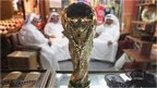 Replica World Cup on display in Doha