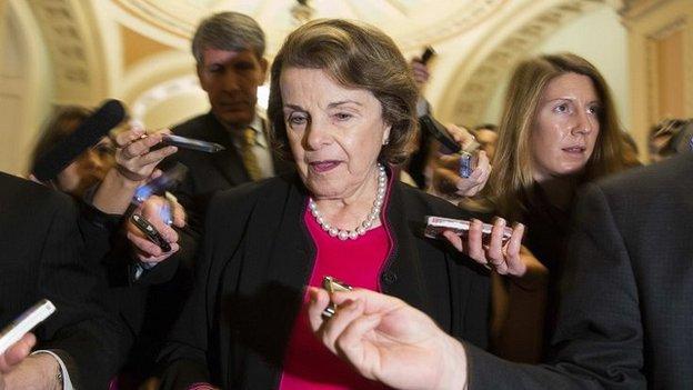 Senator Dianne Feinstein (Nov 2014)