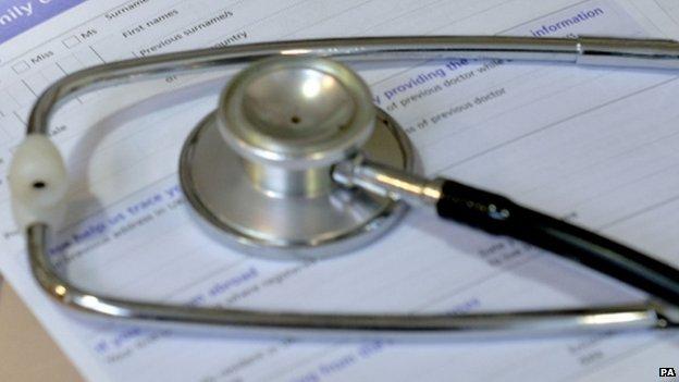 A stethoscope (file image)