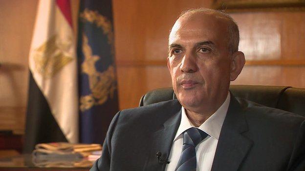 General Abu Bakr Abdul Karim, Egypt's Assistant Interior Minister for Human Rights