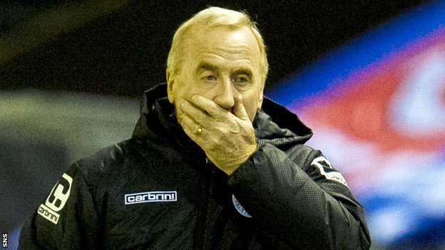Tommy Craig BBC Sport St Mirren Tommy Craig exits as manager after