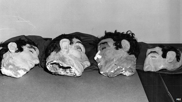 Dummy heads from Alcatraz