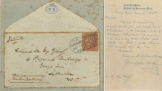 Dickens letters