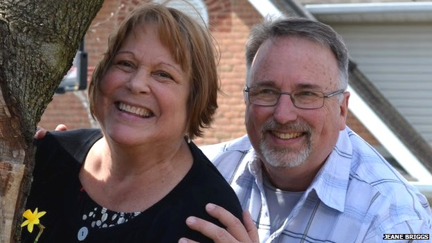 Jeane and Paul Briggs