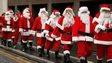 Group of Santas
