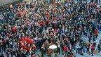 Loughborough University Christmas jumper world record
