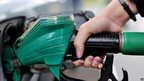 Hand filling car with petrol
