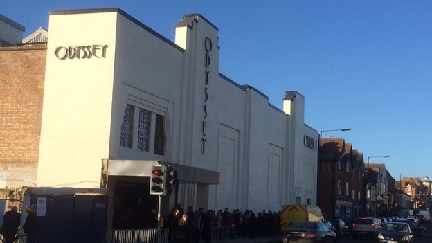 restored odyssey art deco cinema in st albans reopens. Black Bedroom Furniture Sets. Home Design Ideas