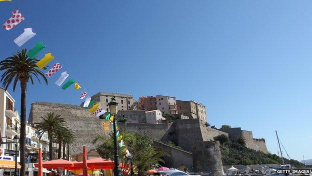 The citadel at Calvi