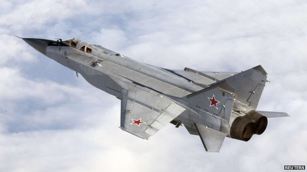 Russian MiG-31 - file pic