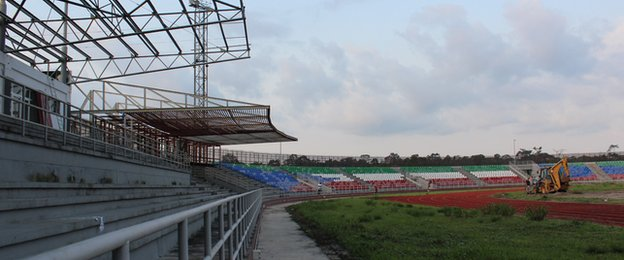 The Mongomo stadium