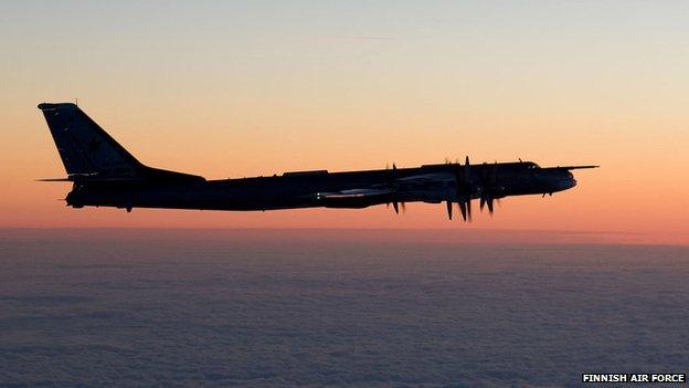 Tupolev Tu-95 Bear bomber