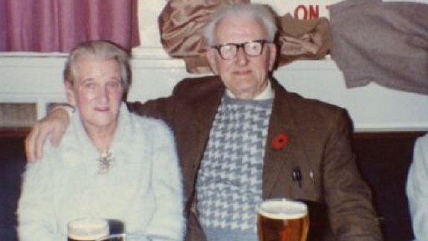 Nesta and Duncan later in life