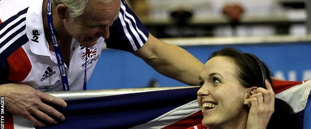 Steve Peters and Victoria Pendleton