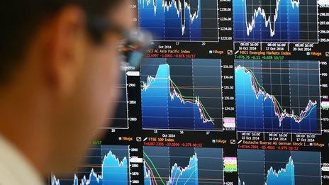 FTSE down as energy shares fall - BBC News