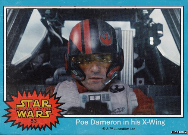 Oscar Isaac is X-Wing fighter pilot Poe Dameron