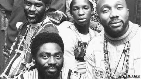 Members of Osibisa pictured in 1974