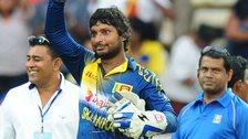 Sri Lanka's Kumar Sangakkara