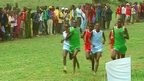 Race at 'Maasai Olympics'