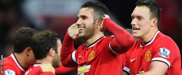 Robin van Persie, Man Utd