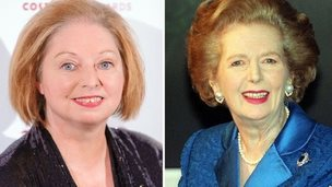 Hilary Mantel and Margaret Thatcher