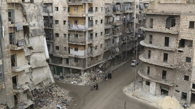 Could Aleppo plan cut Syrian bloodshed? - BBC News