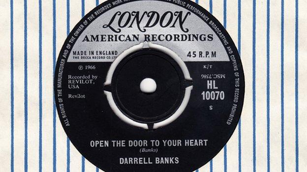 Darrell Banks 45 single