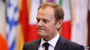 European Council president Donald Tusk in 2014