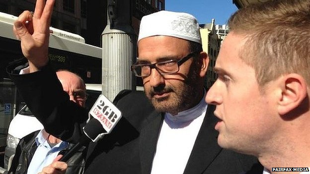 Man Haron Monis, gunman in the Lindt Chocolat Café siege in Martin Place