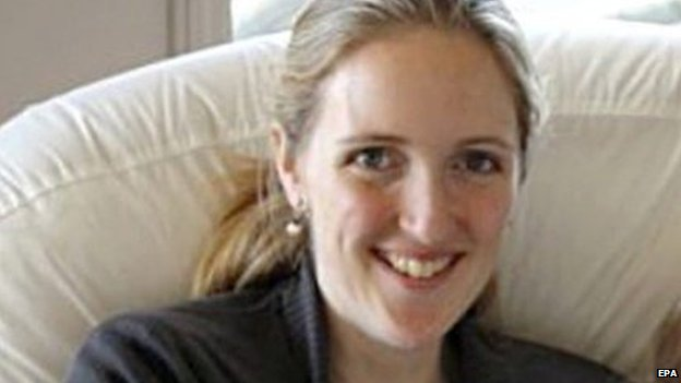 A family handout image obtained on 16 December 2014 of 38-year-old Katrina Dawson. Dawson was one of two hostages killed in a dramatic 16-hour siege at the Lindt cafe in Sydney, Australia.