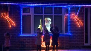 Father Christmas in Derby