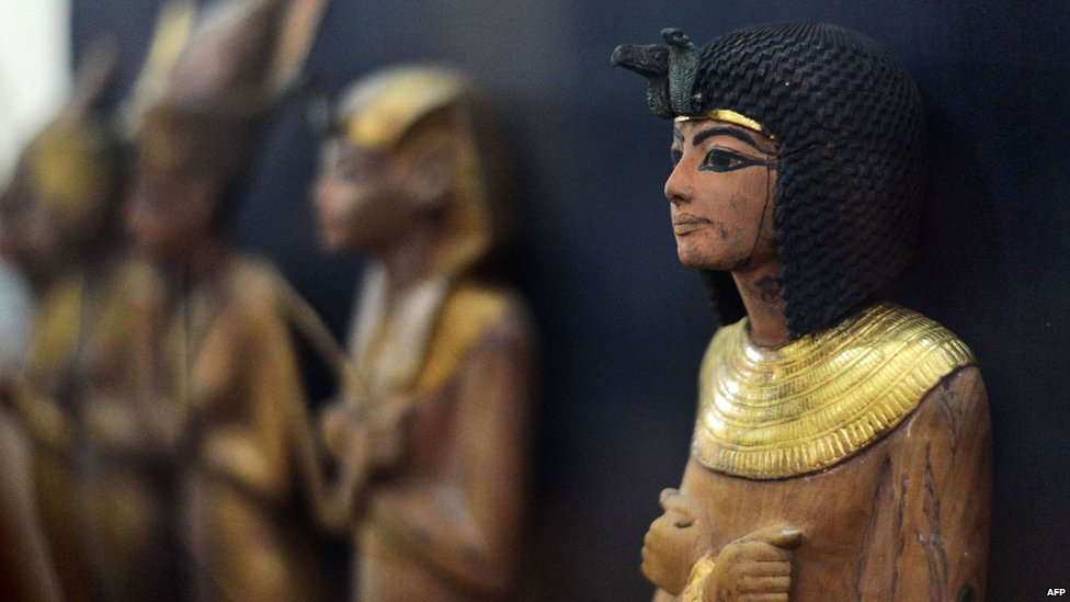 Close up of statuette