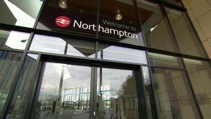 Northampton new station