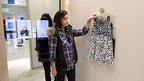 The high tech fitting rooms serving clients at Rebecca Minkoff's New York boutique