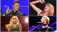 Sam Smith, Taylor Swift, Ed Sheeran and Iggy Azalea