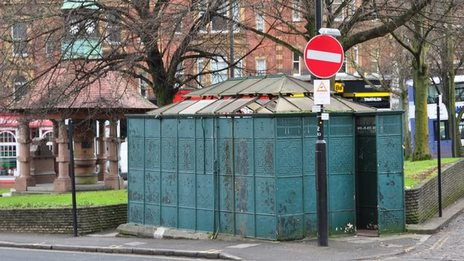 """A Victorian public urinal is listed by English Heritage for its """"special historical interest""""."""