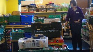 Ebbw Vale food bank