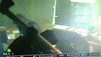 Burglars smash cabinets