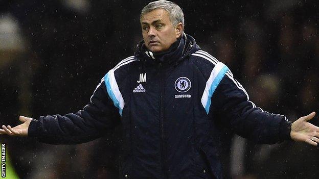 Mourinho pagará una multa por afirmar que había una campaña en contra del Chelsea