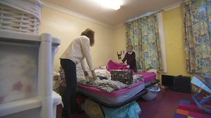 93,000 children in England are homeless
