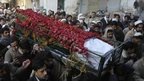 Funeral of student in Peshawar, 17 Dec