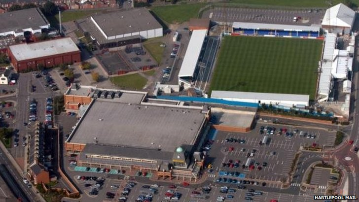 Hartlepool United's ground
