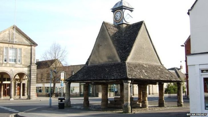 Witney town centre