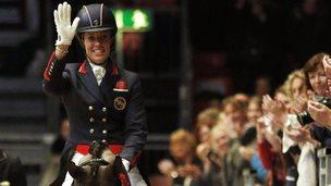 Double Olympic champion Charlotte Dujardin
