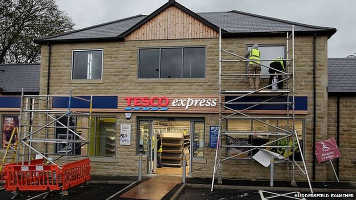 Tesco Express on Halifax Road