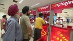 Spicejet queue