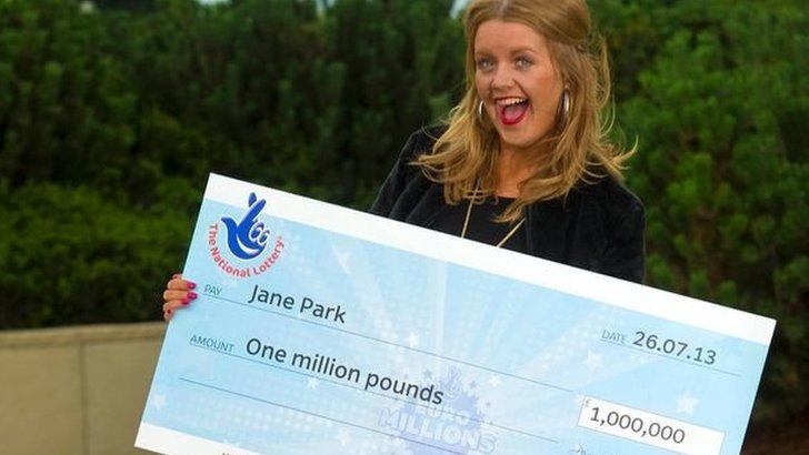 Millionaire winner